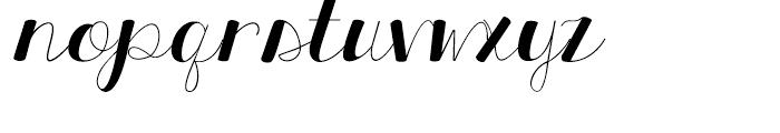 KG All Things New Regular Font LOWERCASE