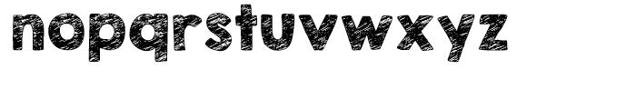 KG Broken Vessels Sketch Regular Font LOWERCASE