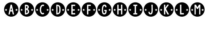 KG Counting Stars Regular Font LOWERCASE