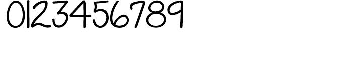 KG Grace For Today Regular Font OTHER CHARS