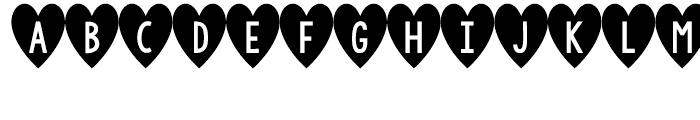 KG I And Love And You Regular Font LOWERCASE