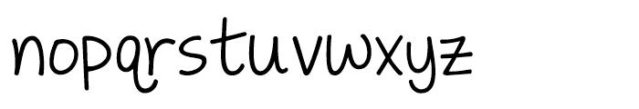 KG Love Somebody Font LOWERCASE