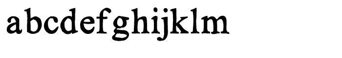 KG No Regrets Solid Font LOWERCASE