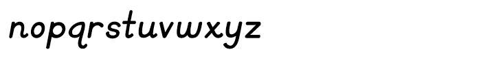 KG Primary Italics Regular Font LOWERCASE