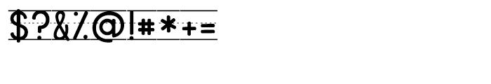 KG Primary Penmanship Lined Font OTHER CHARS