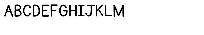 KG Primary Penmanship Regular Font UPPERCASE