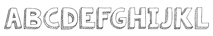 KG Summer Sunshine Regular Font UPPERCASE