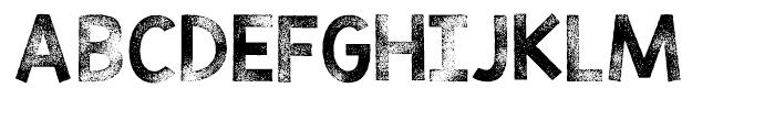 KG TRIBECA STAMP Regular Font UPPERCASE