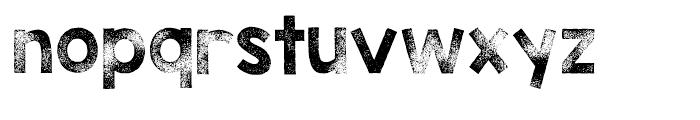 KG TRIBECA STAMP Regular Font LOWERCASE