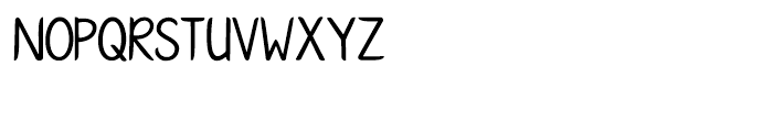 KG Ways to Say Goodbye Regular Font UPPERCASE