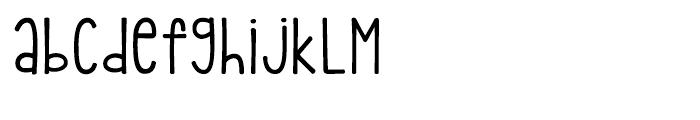 kg pdx bridgetown Regular Font LOWERCASE