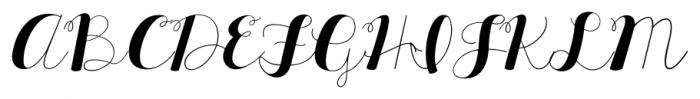 KG All Things New Regular Font UPPERCASE