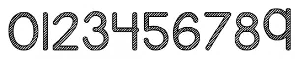KG Candy Cane Stripe Regular Font OTHER CHARS