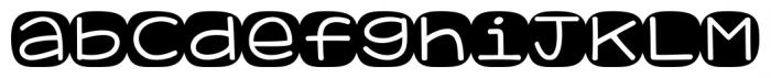 KG Geronimo Blocks Regular Font LOWERCASE