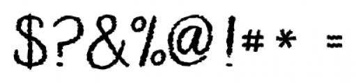 KG Makes You Stronger Regular Font OTHER CHARS