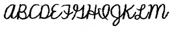 KG Makes You Stronger Regular Font UPPERCASE