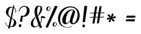 KG Manhattan Script Regular Font OTHER CHARS