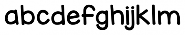 KG Miss Kindy Chunky Font LOWERCASE