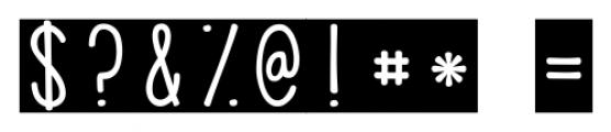 KG PDX Blocks Regular Font OTHER CHARS