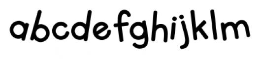 KG Primary Whimsy Regular Font LOWERCASE