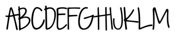 KG Seven Sixteen Regular Font UPPERCASE