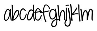 KG Seven Sixteen Regular Font LOWERCASE