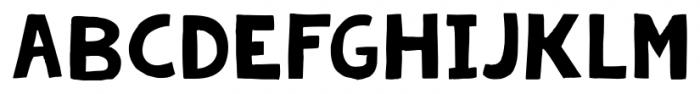 KG Summer Storm Rough Font LOWERCASE