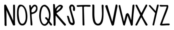 KG Sweet N Sassy Regular Font UPPERCASE