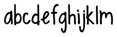 KG Sweet N Sassy Regular Font LOWERCASE