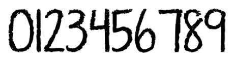 KG Ten Thousand Reasons Alt Regular Font OTHER CHARS