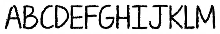 KG Ten Thousand Reasons Alt Regular Font UPPERCASE