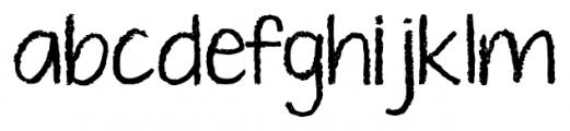 KG Ten Thousand Reasons Alt Regular Font LOWERCASE