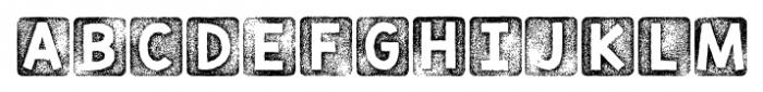 KG Thank You Stamp Regular Font UPPERCASE