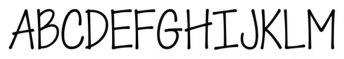 KG When Oceans Rise Regular Font UPPERCASE