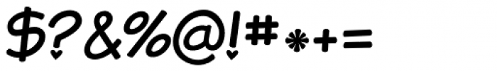 KG A Teeny Tiny Heart Font OTHER CHARS