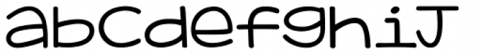 KG Adipose Unicase Font LOWERCASE