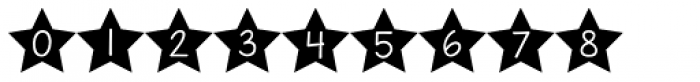 KG All Of The Stars Font OTHER CHARS