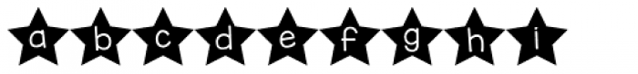 KG All Of The Stars Font LOWERCASE