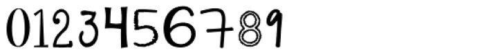 KG Alphabet Regurgitation Font OTHER CHARS