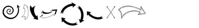 KG Arrows Font UPPERCASE