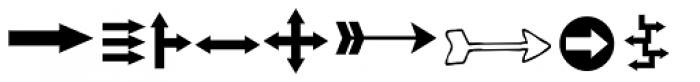 KG Arrows Font LOWERCASE