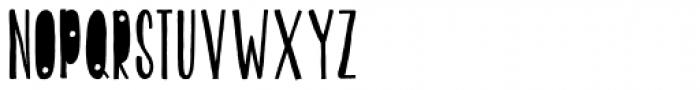 KG Beautiful Ending Font UPPERCASE