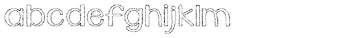 KG Daylight Font LOWERCASE