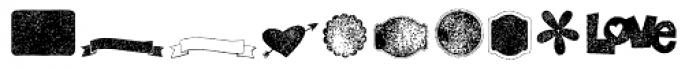 KG Flavor And Frames Seven Font LOWERCASE