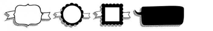 KG Flavor And Frames Six Font UPPERCASE
