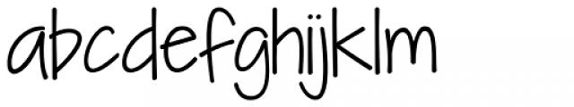 KG I Need A Font Font LOWERCASE