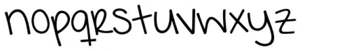 KG I Want Crazy Font LOWERCASE