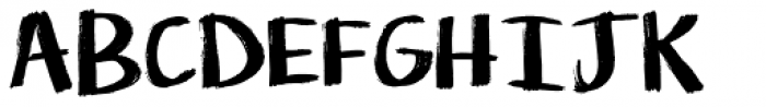 KG Life Is Messy Font UPPERCASE