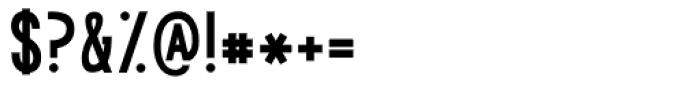 KG Modern Monogram Plain Font OTHER CHARS