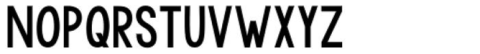 KG Modern Monogram Plain Font UPPERCASE